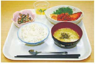 <strong>西区</strong>の食材を取り入れたランチ